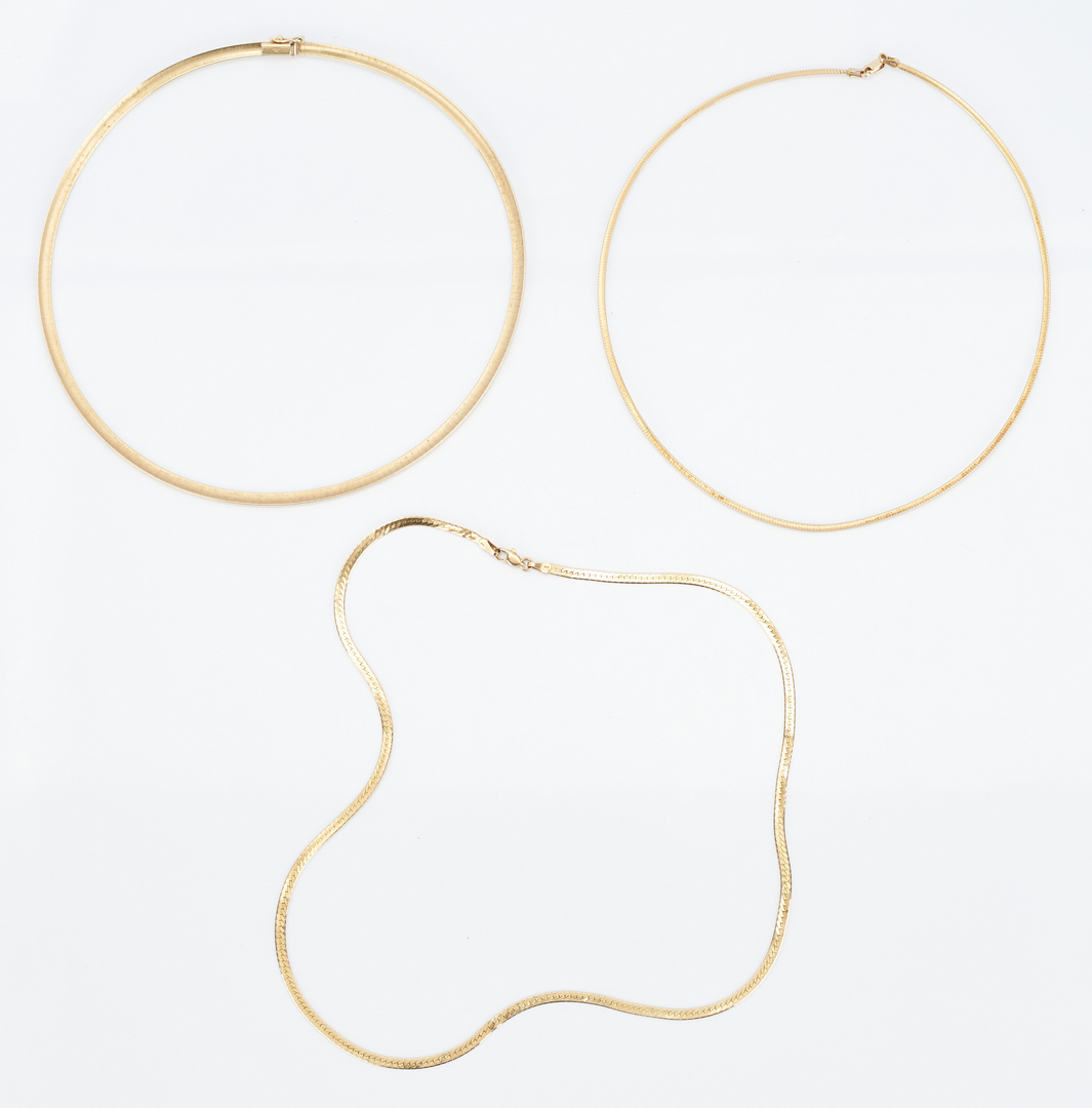 Lot 845: 8 14K Yellow Gold & 1 Sterling Jewelry Items