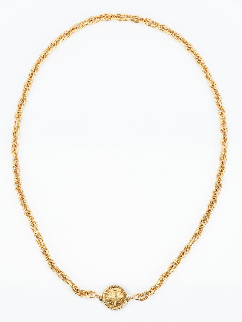 Lot 863: Vintage Chanel 31 Rue Cambon Necklace