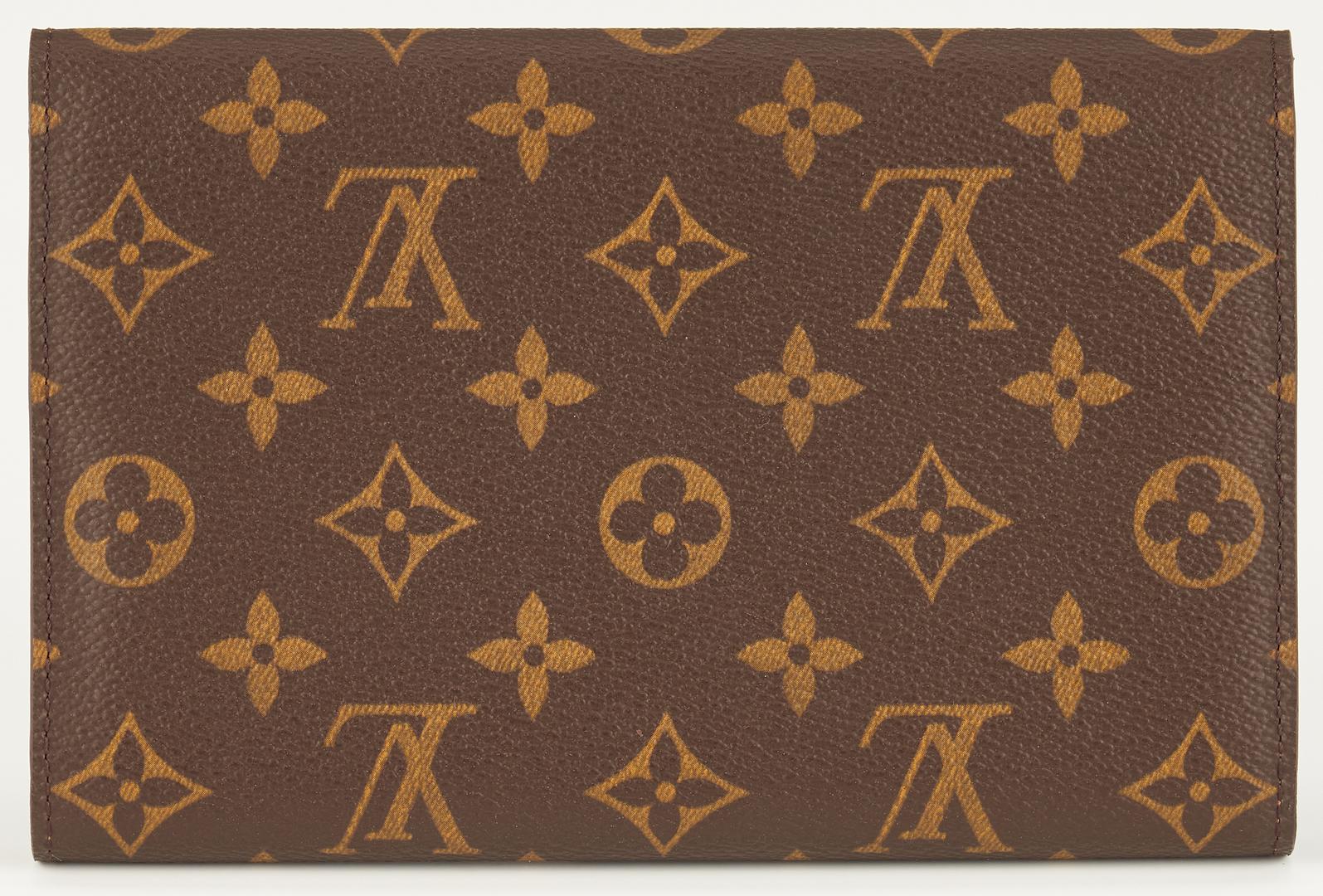 Lot 864: Louis Vuitton Wallet New w/ Box