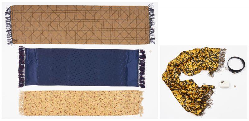 Lot 867: 6 Men's Designer Fashion Items, incl. Versace, Dior