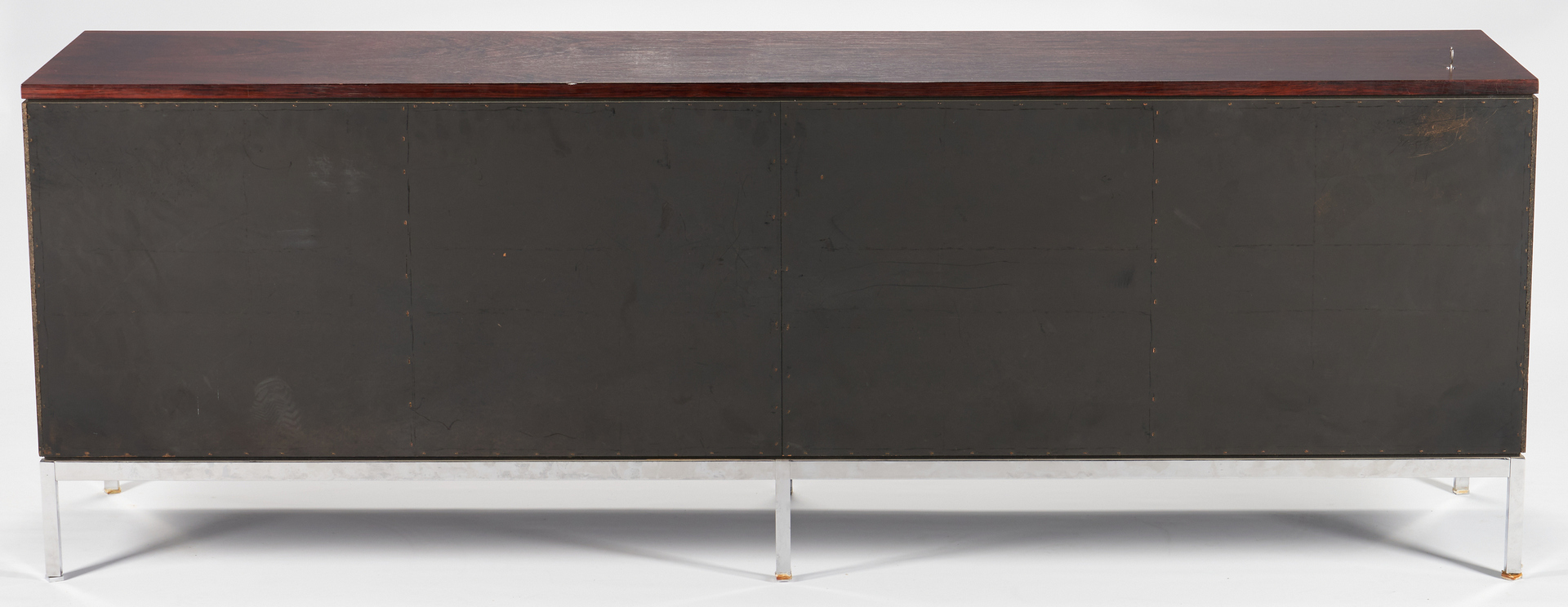 Lot 878: Knoll Rosewood Credenza or Sideboard, wood top