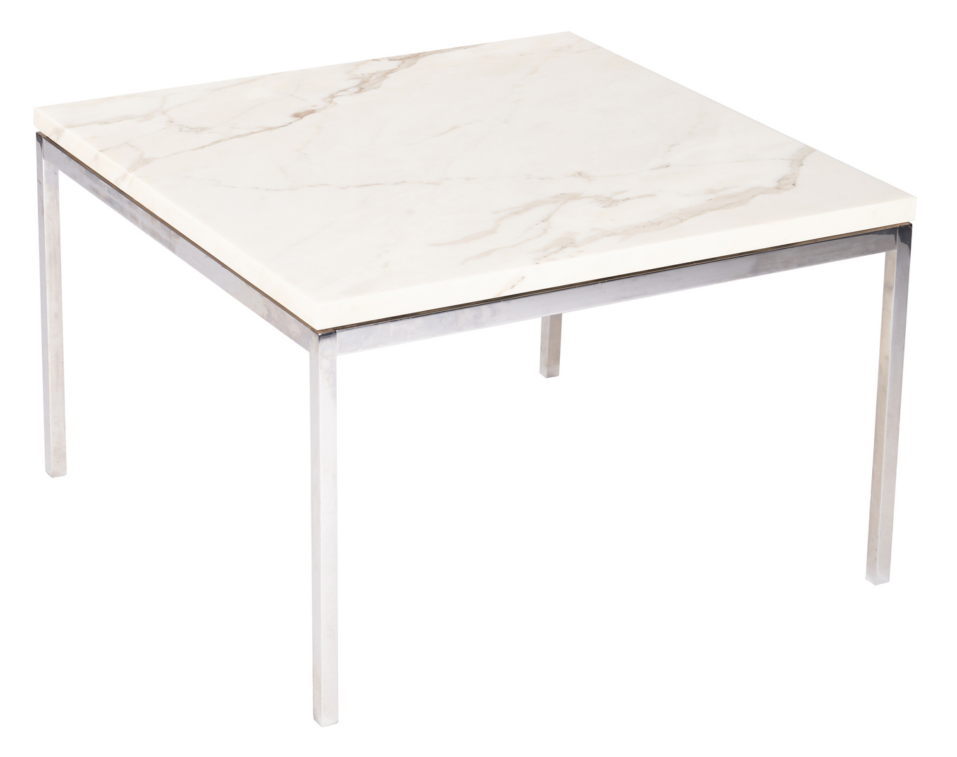 Lot 879: Mid-Century Florence Knoll Marble Top Table