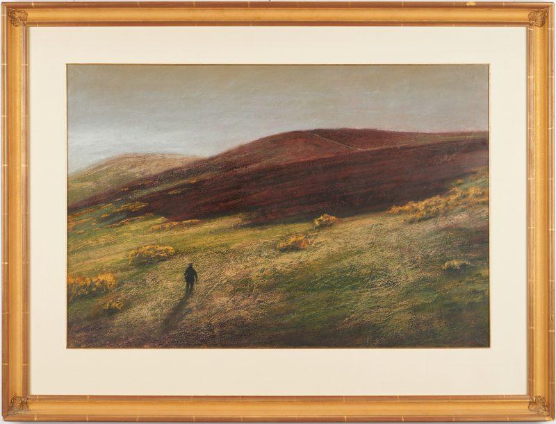Lot 882: Scott Duce Pastel Landscape
