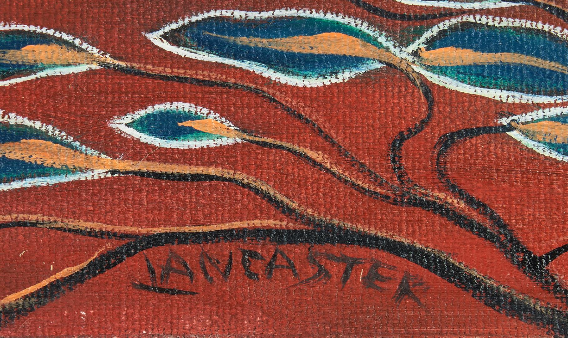 Lot 884: Paul Lancaster O/C, Tropical Still Life