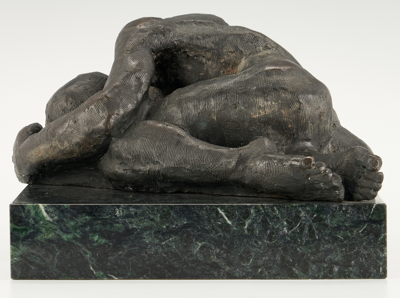 Lot 885: David Orth Bronze Sculpture,  Adam
