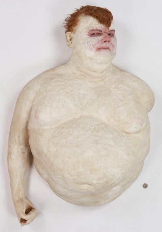Lot 886: Joseph Seigenthaler Ceramic Sculpture, Buster