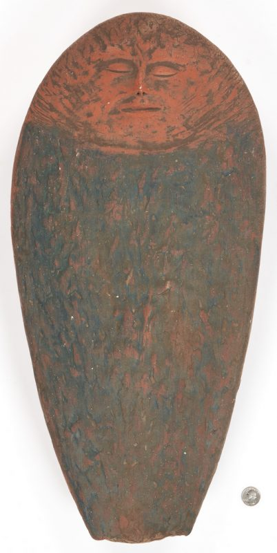 Lot 887: Olen Bryant Ceramic Sleeping Figure