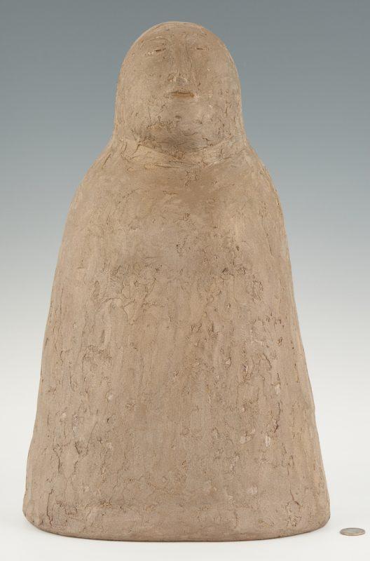 Lot 888: Olen Bryant Tall Ceramic Sculpture