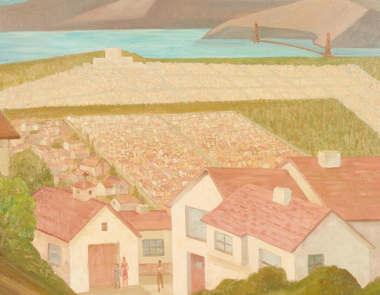 Lot 897: William Eckert O/C, California Landscape