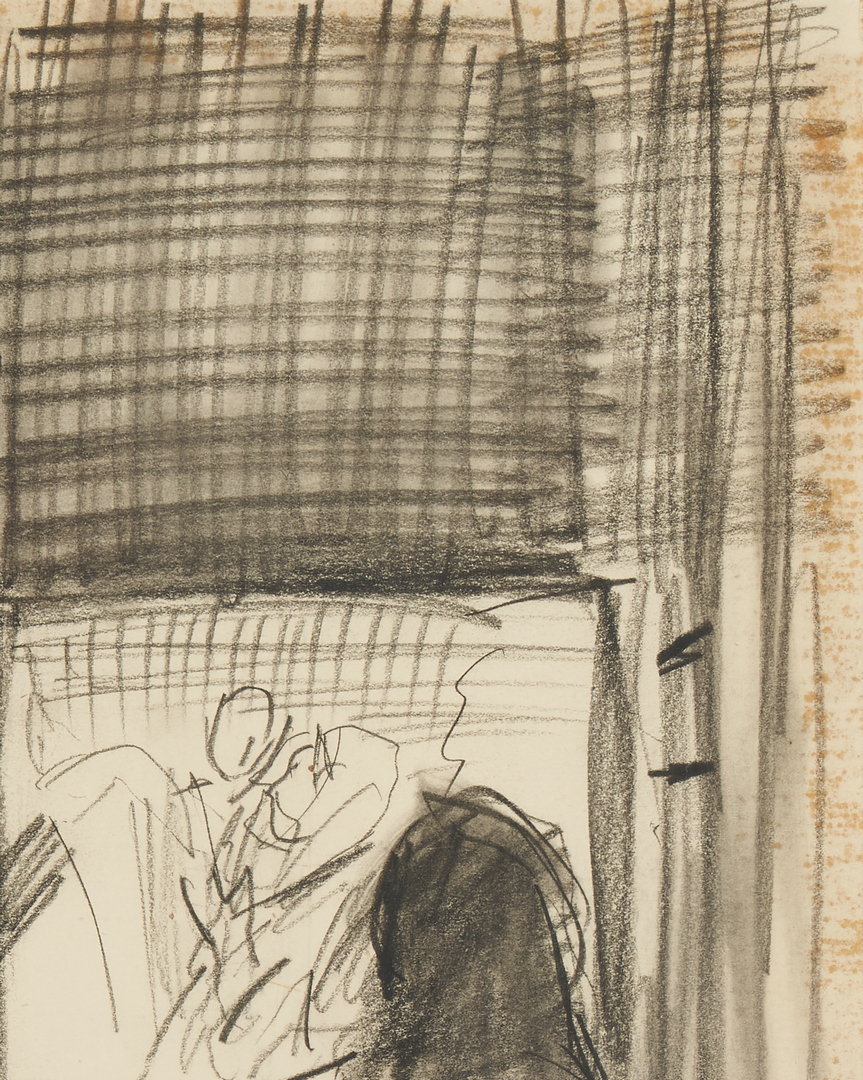 Lot 902: Dame Laura Knight Drawing and Drypoint