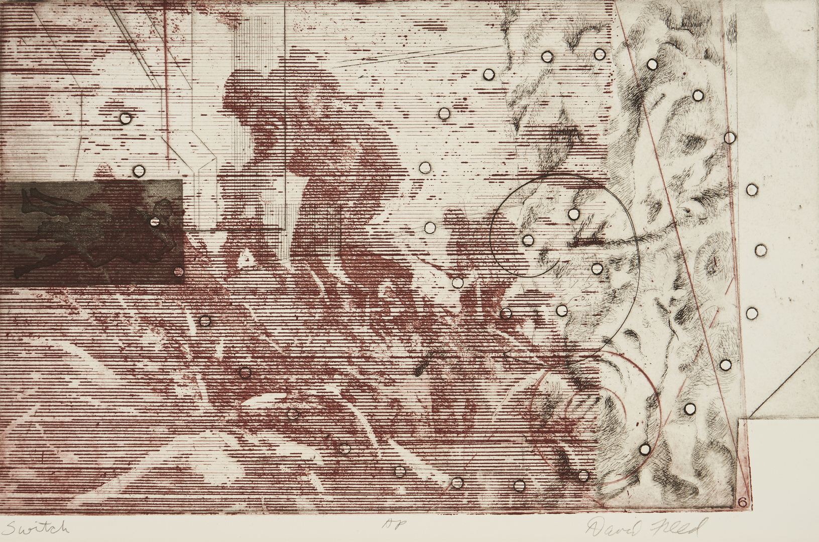 Lot 904: 7 David Freed Artist Proof Color Etchings