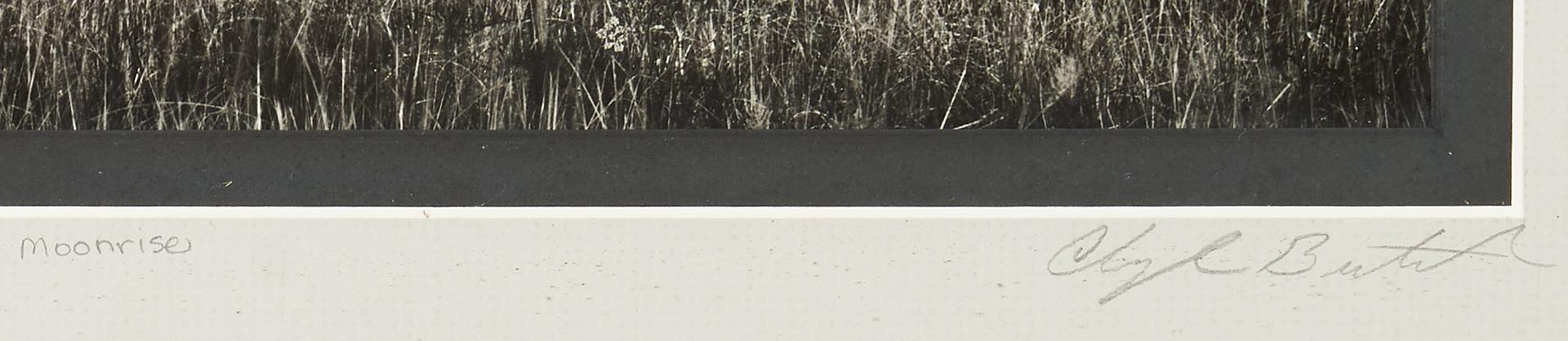 Lot 905: Clyde Butcher Photograph, Moonrise Everglades