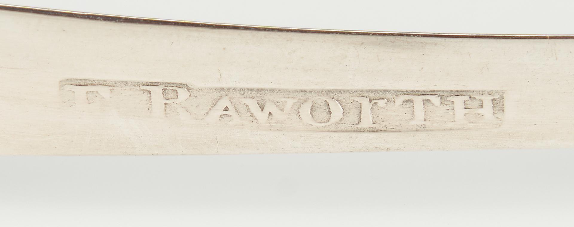 Lot 90: Edward Raworth TN Coin Silver Sugar Tongs
