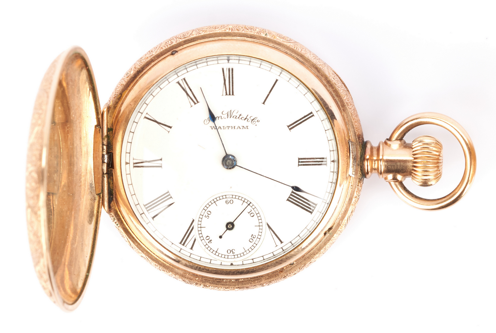 Lot 936: Two (2) Hunting Case Pocket Watches