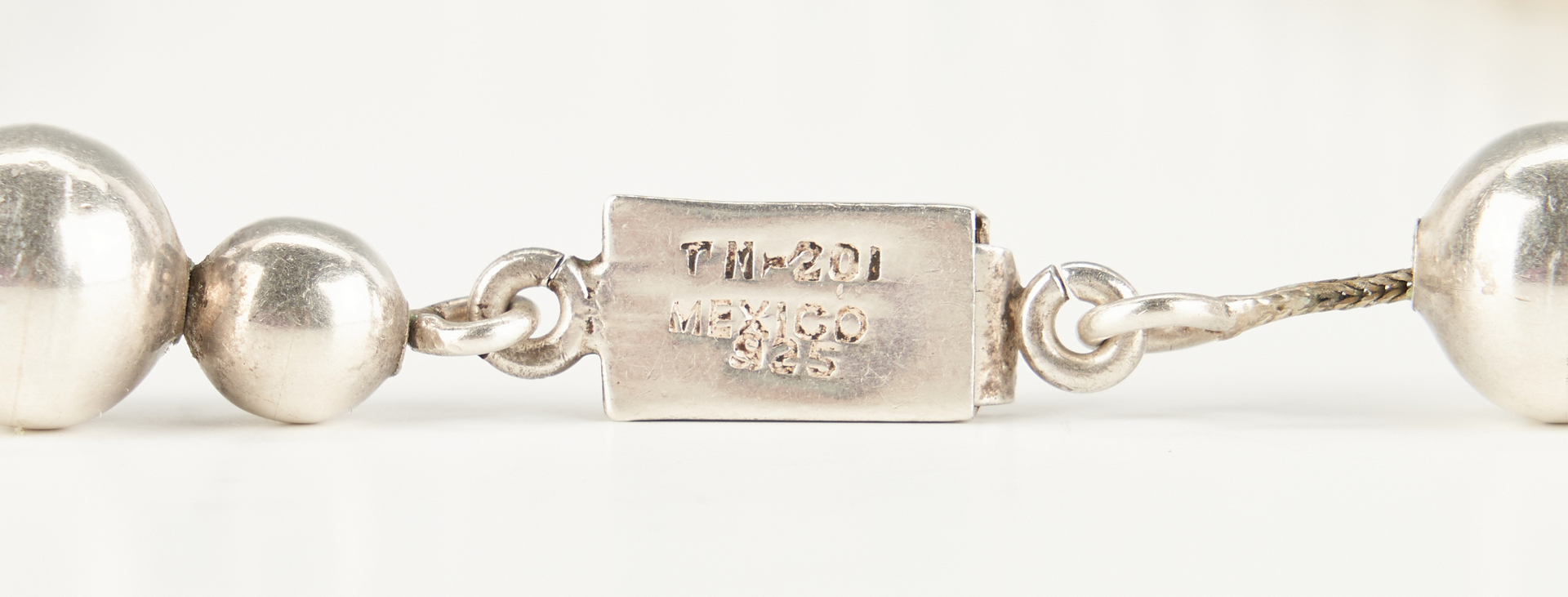 Lot 944: Group of 10 Mexican Sterling Silver Jewelry Items