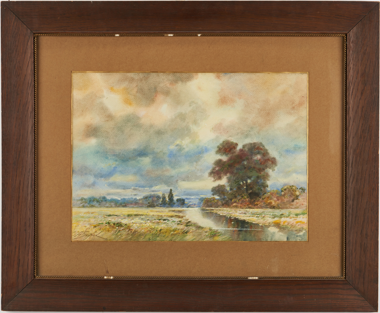 Lot 966: 2 John Seaford Landscape Paintings incl. Indiana