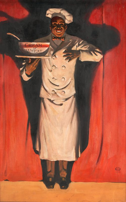 Lot 973: Walter Whitehead O/C Illustration, Cream of Wheat