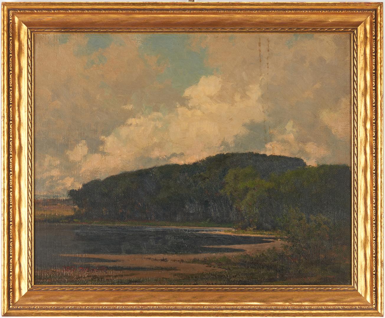 Lot 978: John Ferdinand O/B Coastal Scene