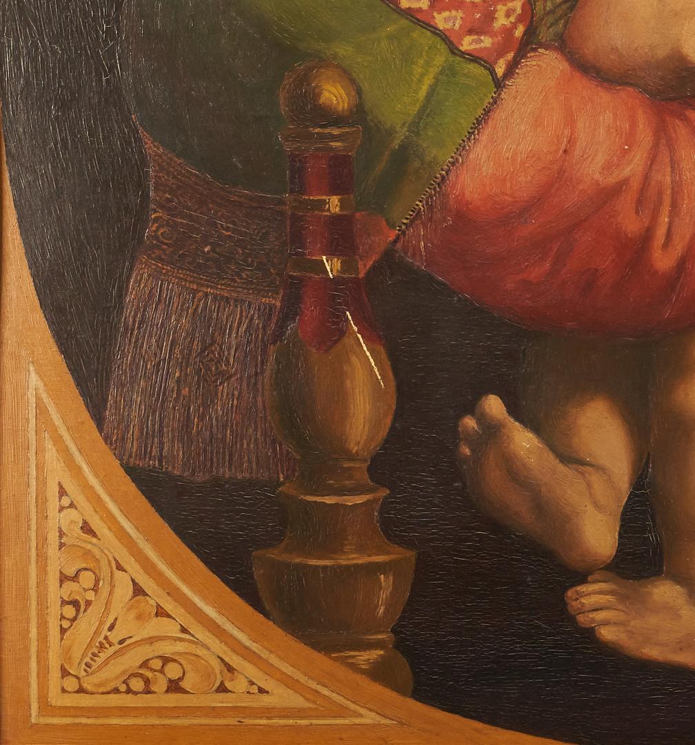Lot 989: After Raphael, Madonna della Sedia