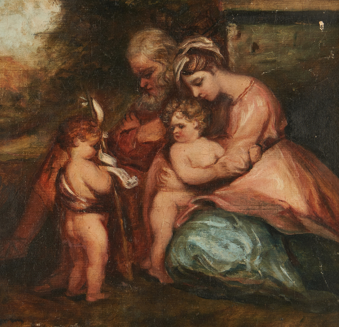 Lot 990: After Sir Joshua Reynolds, O/C, Holy Family