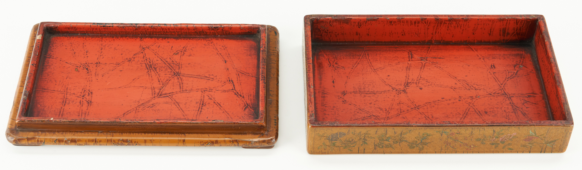 Lot 9: Chinese Ink Stone and Lacquer Box