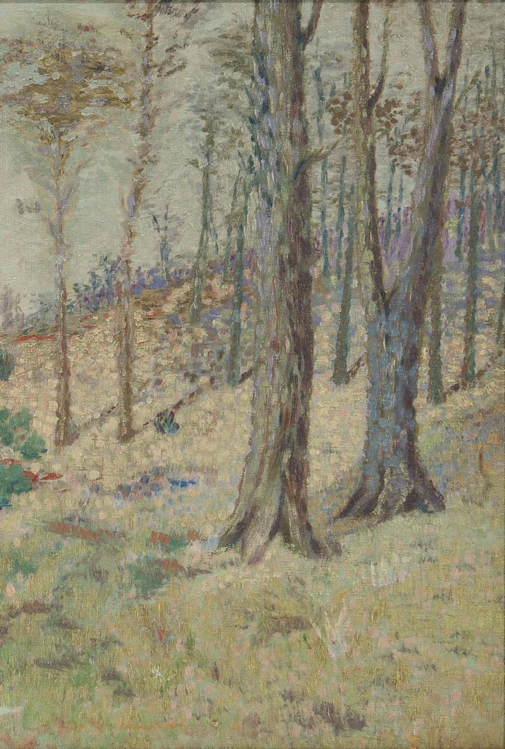 Lot 1008: American School, Impressionist Landscape Painting