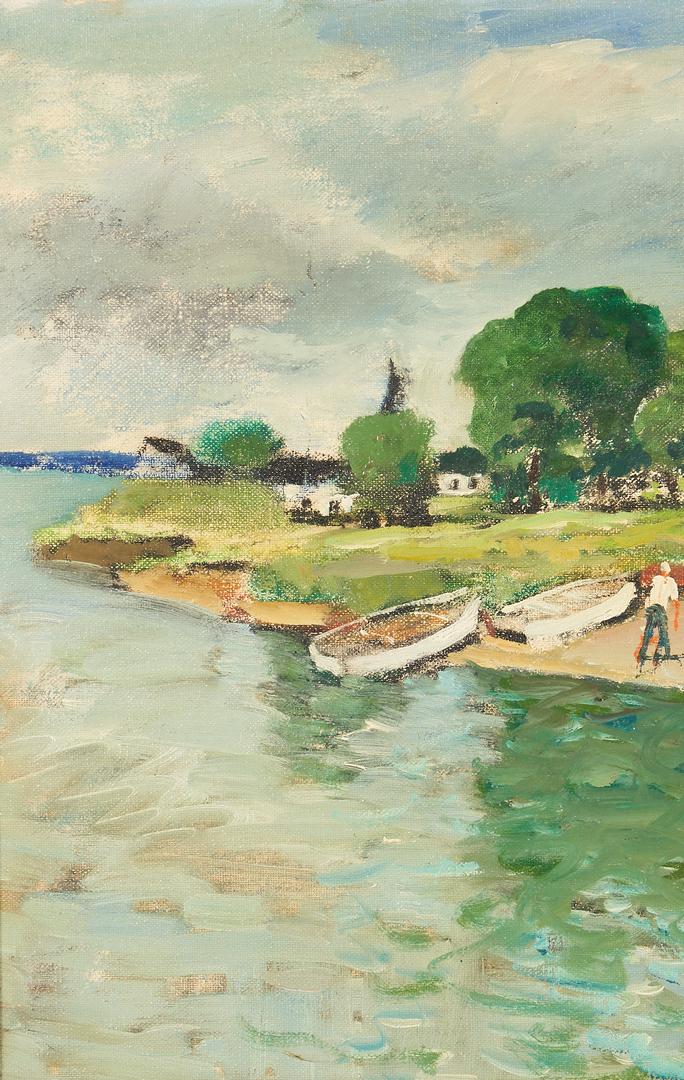 Lot 1017: Nicolai Cikovsky O/B Coastal Landscape