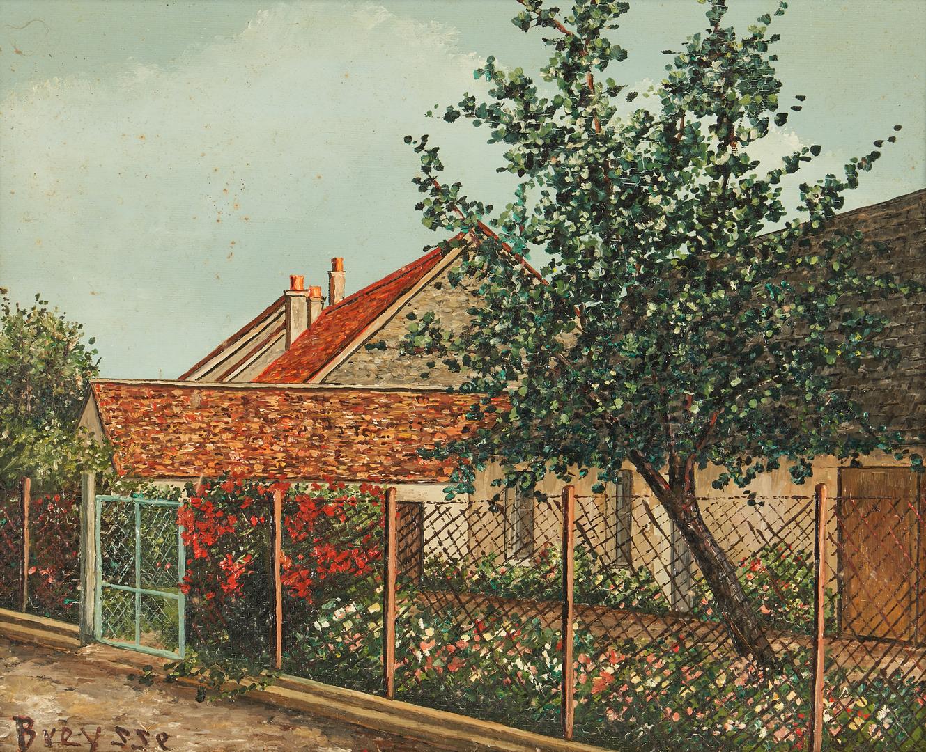 Lot 1018: 3 George Breysse O/C Landscapes, Touraine, France