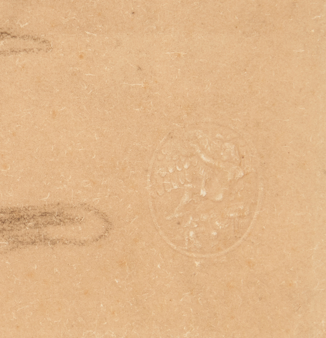 Lot 1019: 2 European Artworks, incl. Pochoir After Vincent Van Gogh