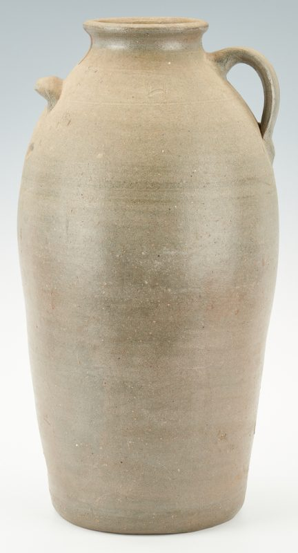 Lot 1041: Middle Tennessee Stoneware Pottery Churn