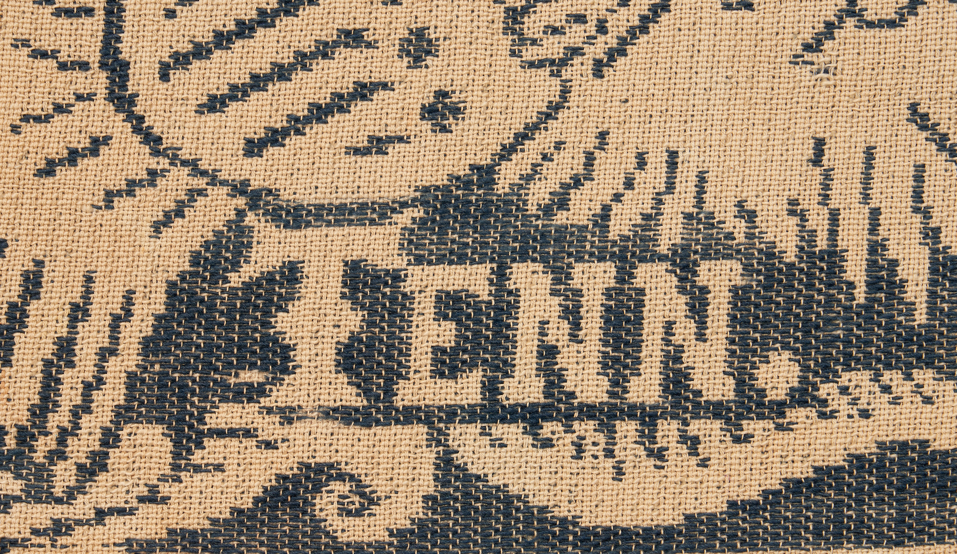 Lot 1054: Maryville Woolen Mill Blue Coverlet