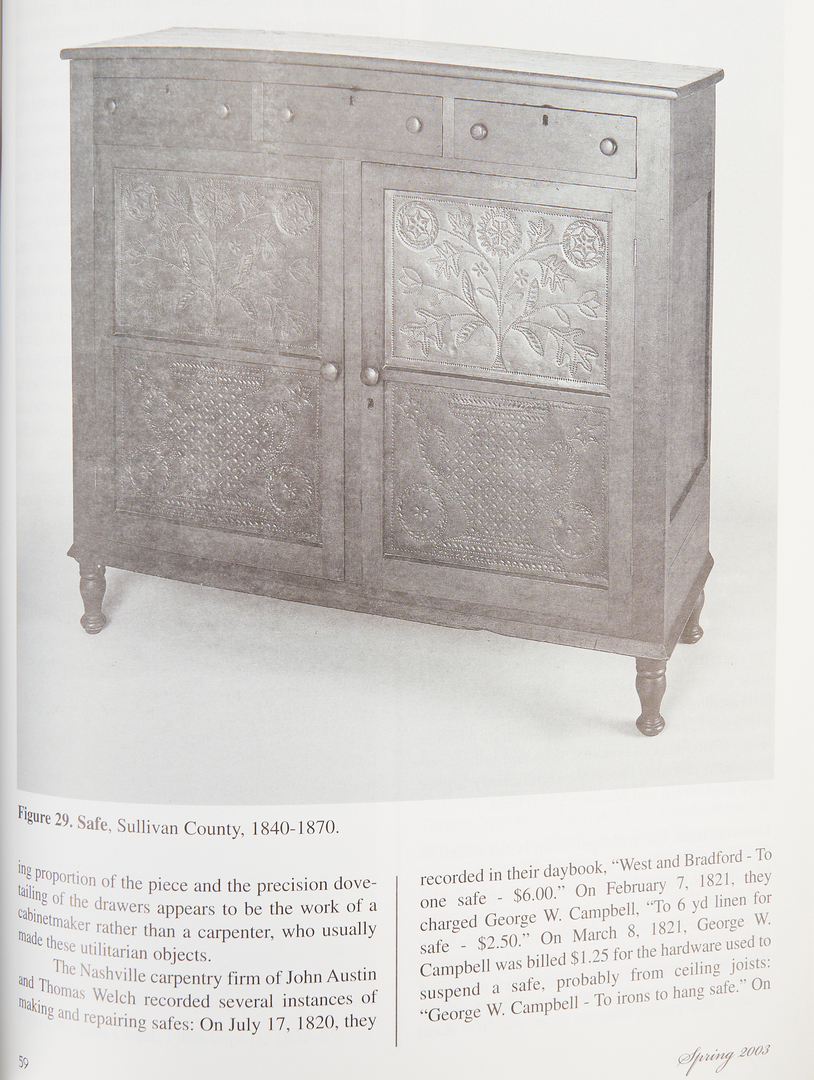 Lot 1067: 10 Southern Decorative Arts Books, incl. ART AND MYSTERY OF TN
