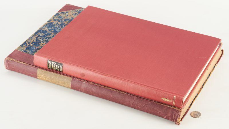 "Lot 1068: Paul De Lamerie Silver Book and Chippendale ""Director"""