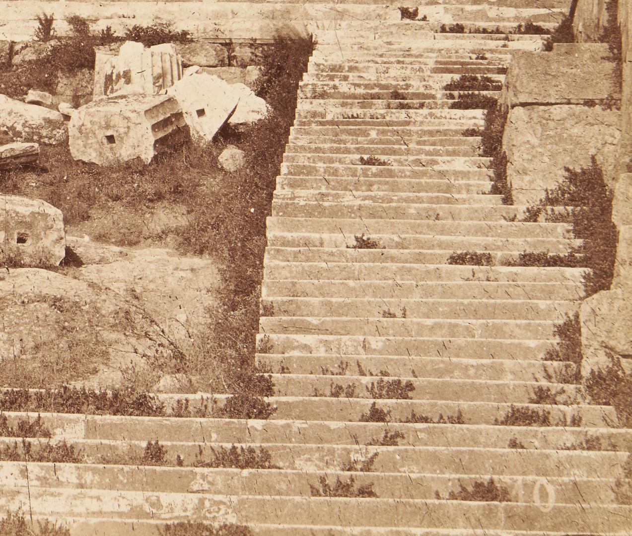 Lot 1070: 2 Early Views of Greece, attr. Dimitrios Constantin