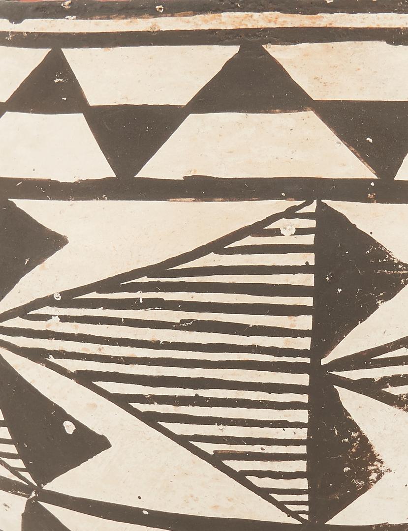 Lot 1106: 8 Native American Pottery items, incl. Acoma
