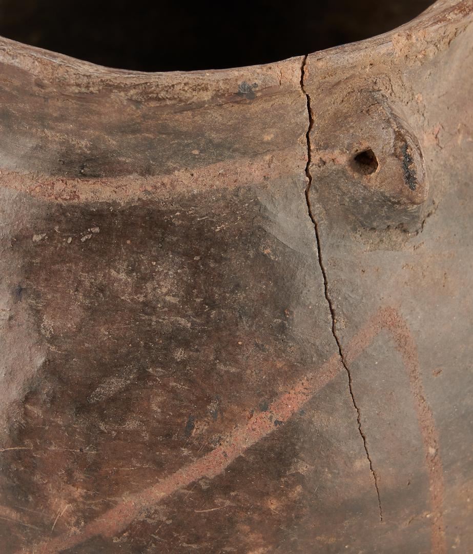 Lot 1119: 4 Native American Southwest Pottery Items & 1 Northwest Basket