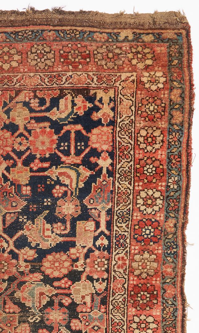 Lot 1126: 2 Near East/Middle East Rugs, Turkish & Hamadan Runner