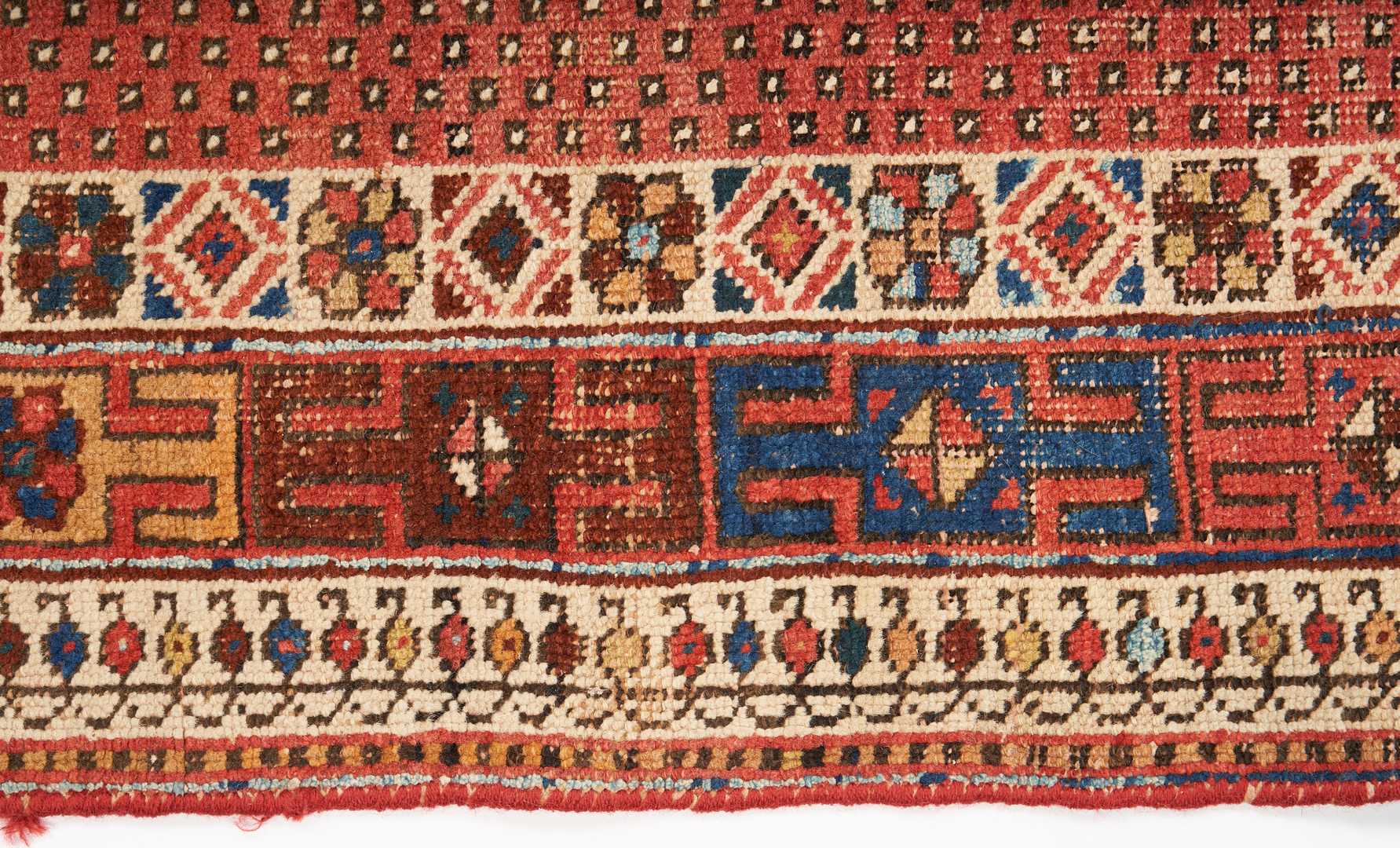 Lot 1129: Persian Afshar Area Rug