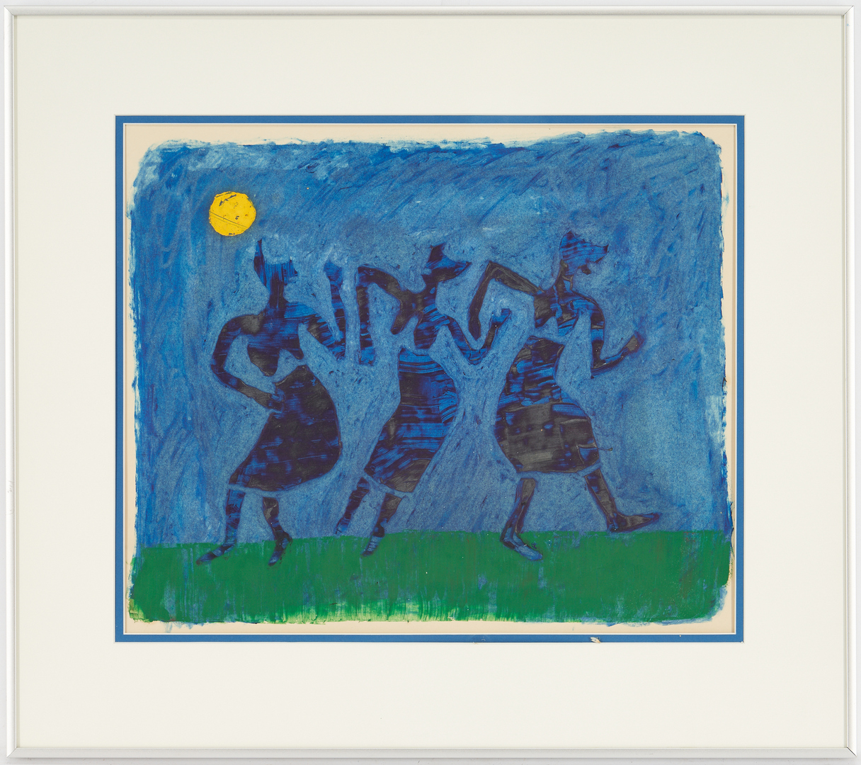 Lot 1134: 3 Works on Paper, incl. Paulus and Henry Moore Abstract