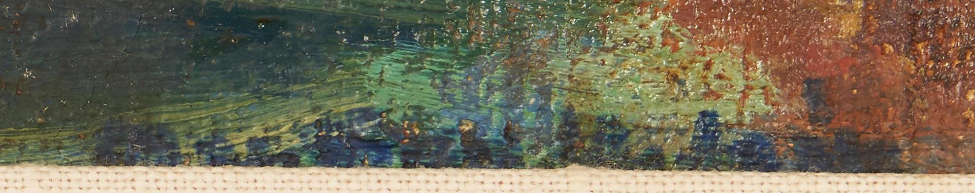 Lot 1138: Marston Hodgin O/C Marine Painting, Provincetown