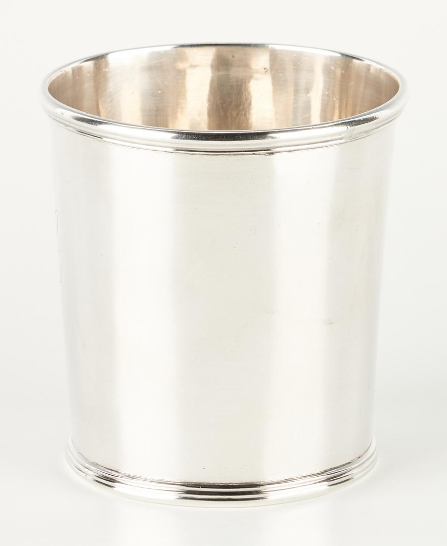 Lot 113: Asa Blanchard Kentucky Coin Silver Julep Cup