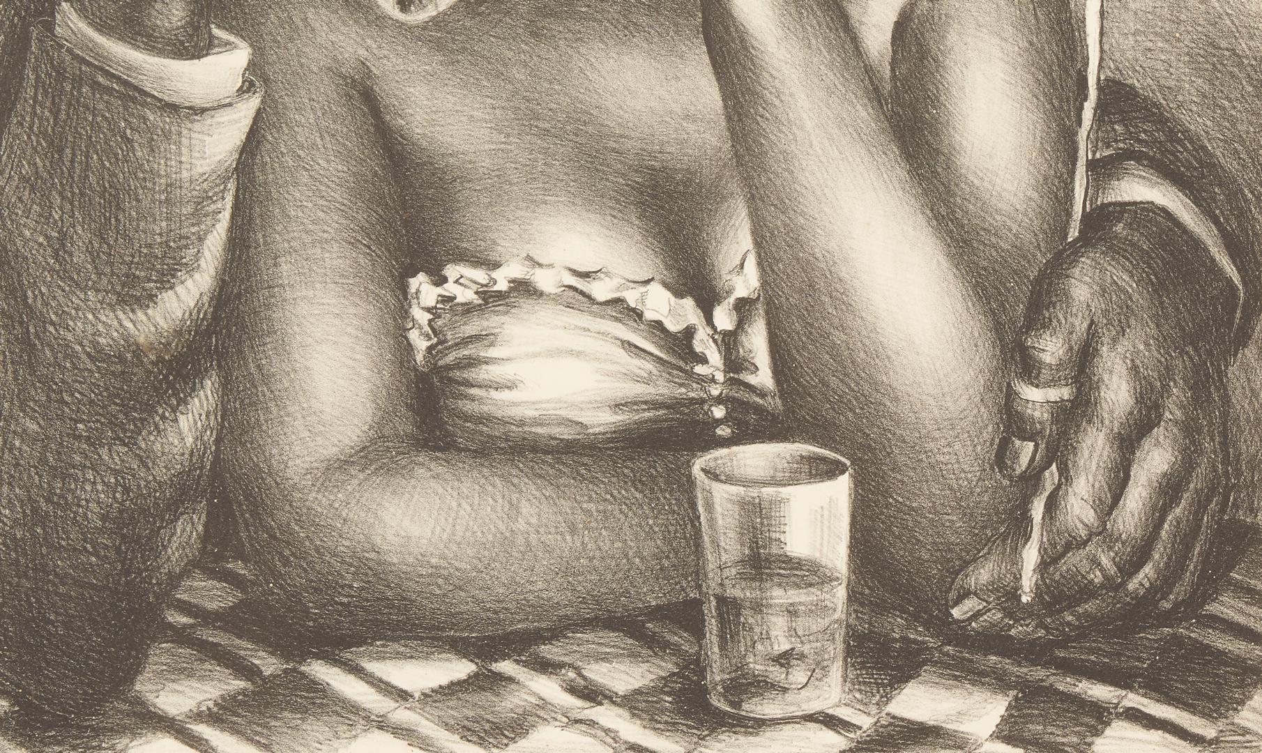 Lot 1152: 3 Prints: Marion Greenwood and Kathe Kollwitz