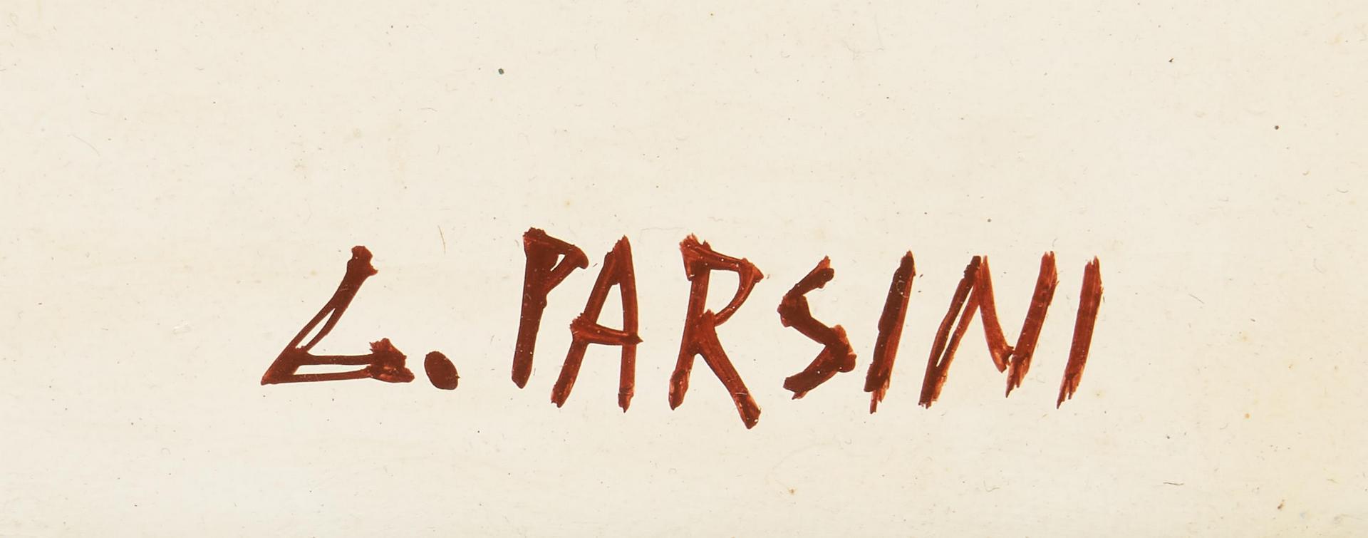 Lot 1156: 2 Luciana Parsini O/C, Landscape Paintings