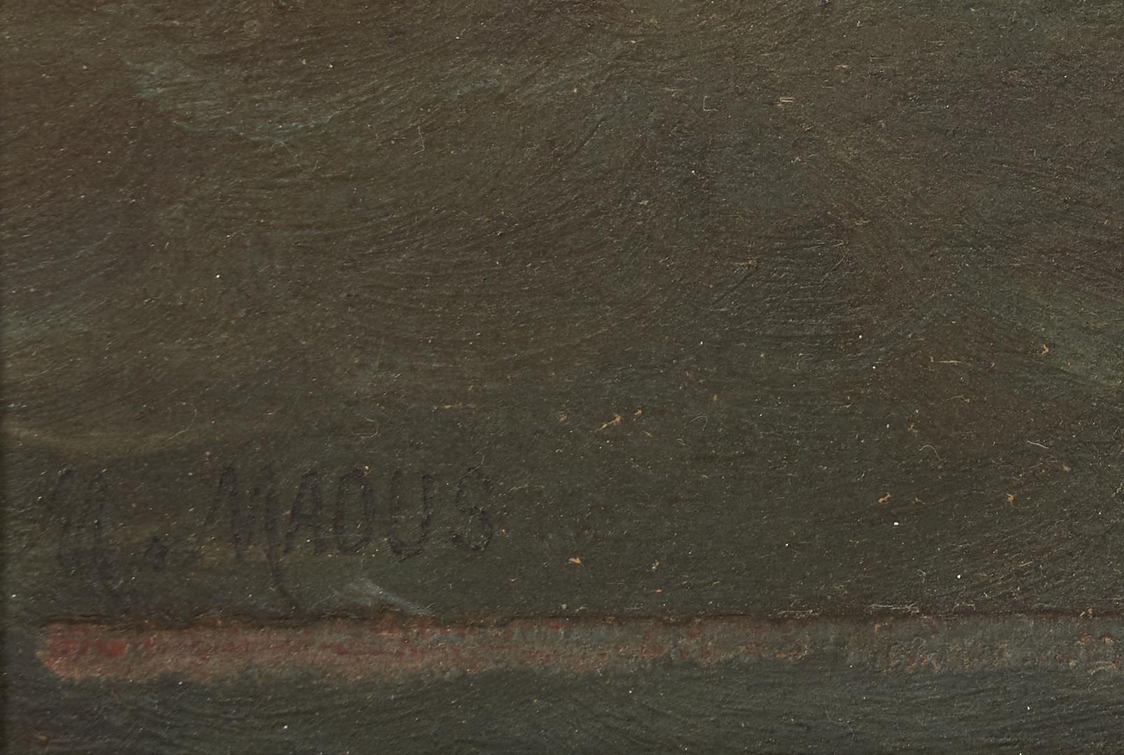 Lot 1157: European O/B Coastal Scene, Maous