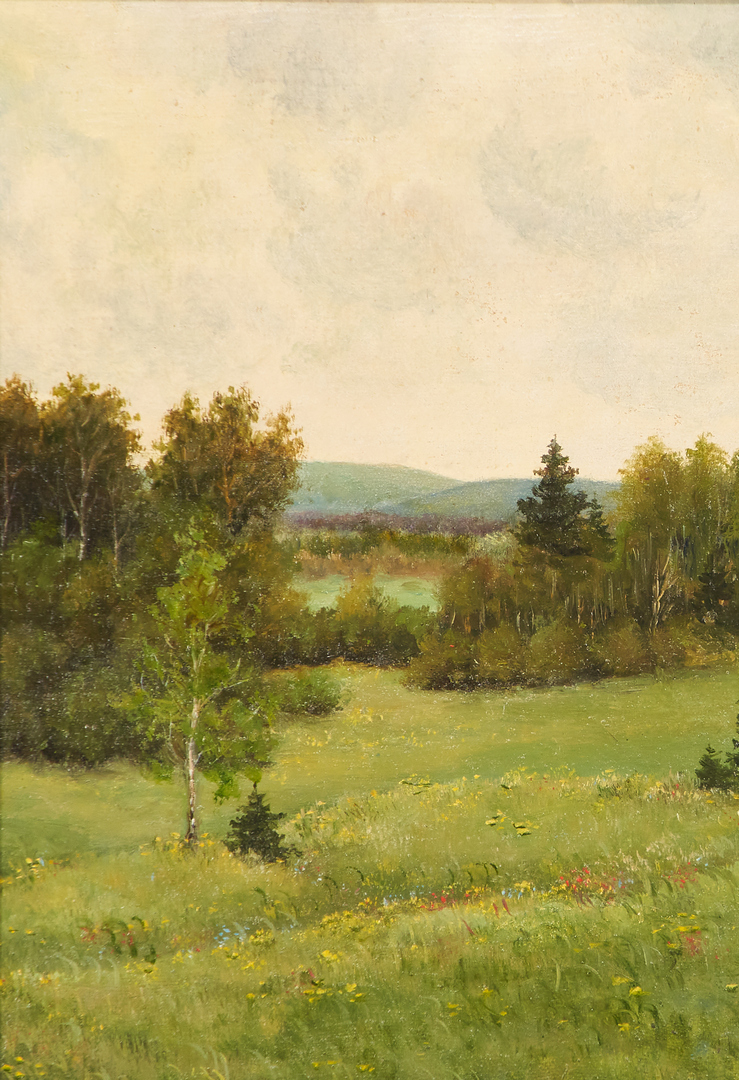 Lot 1160: Russian School, 20th century oil landscape