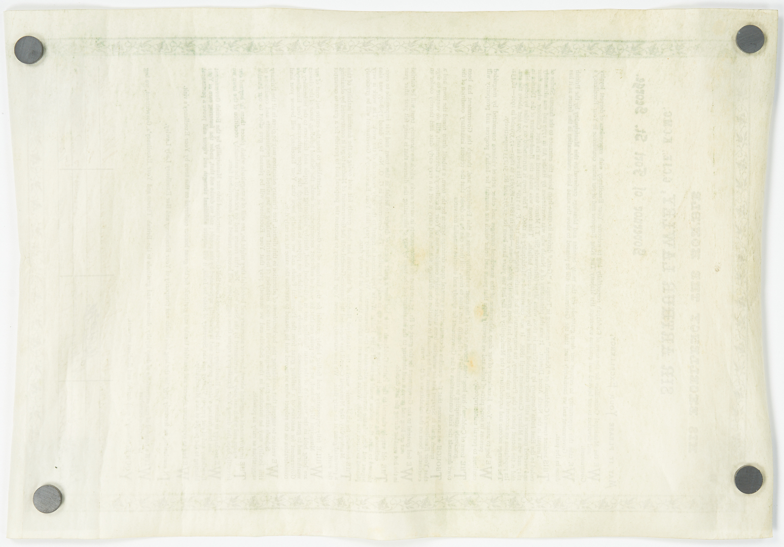 Lot 1162: Colonial India Signed Petition & Visakhapatnam Box