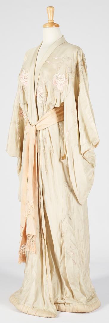 Lot 1181: 2 Antique Asian Silk Robes incl. Bridal Shiromuku