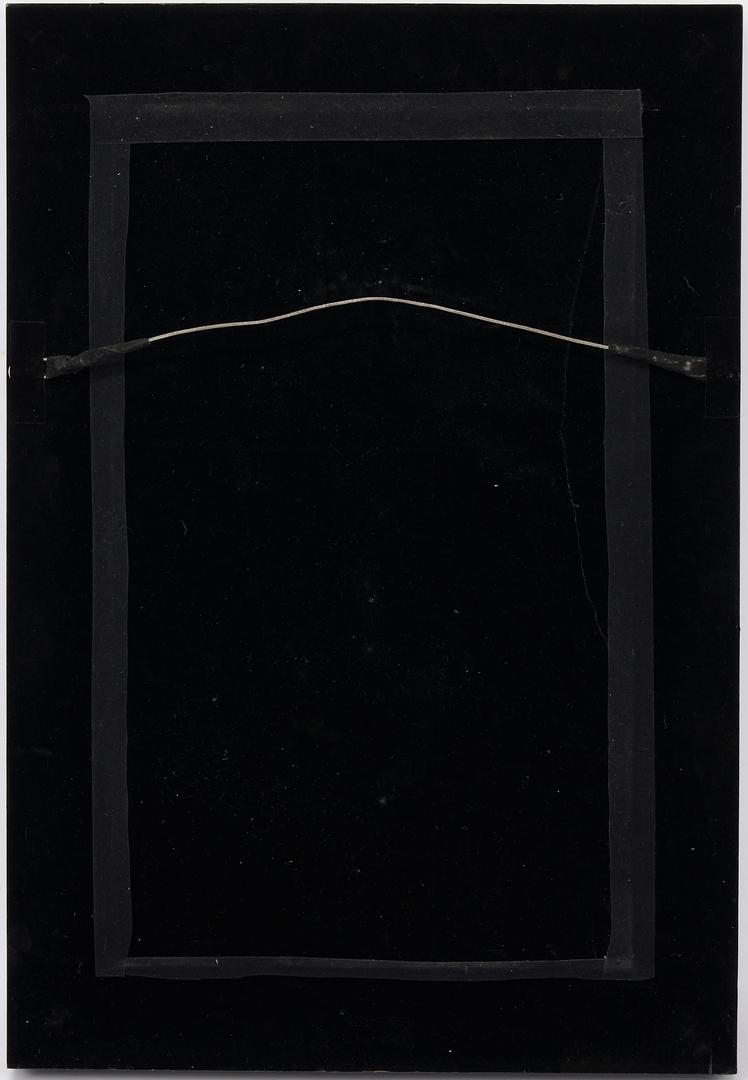 Lot 1197: 2 Chinese Bronze Door Knockers, Framed