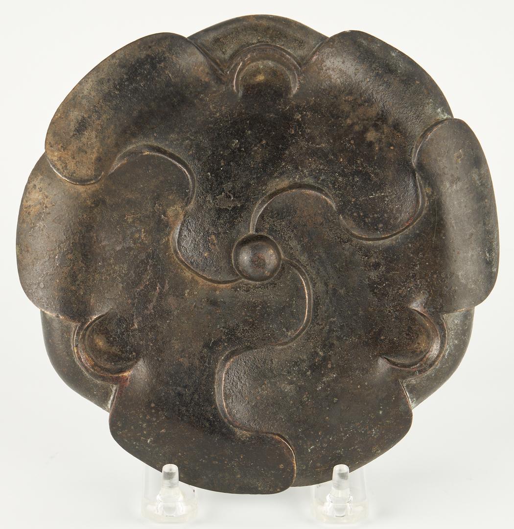 Lot 11: Chinese Bronze Censer & Lotus Stand