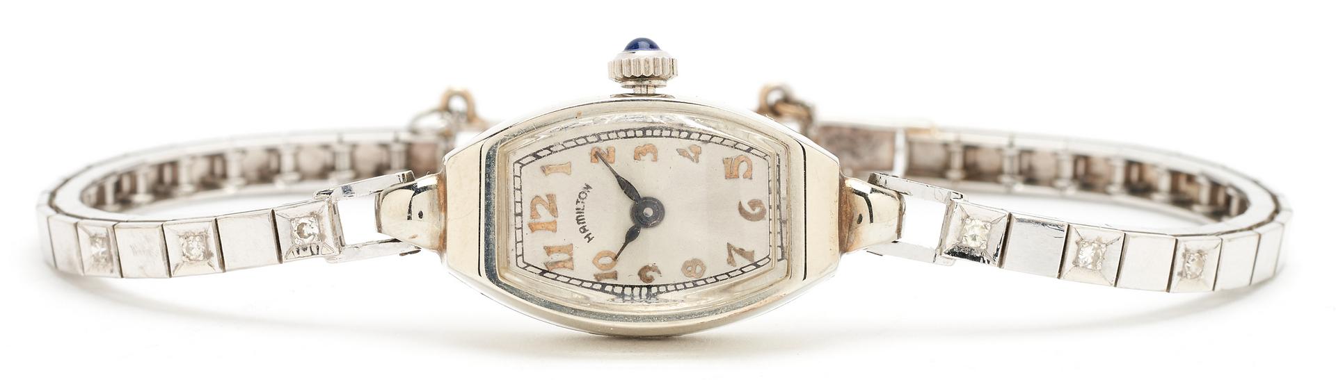 Lot 1208: Ladies 14K Hamilton Watch